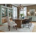 Pulaski Furniture The Art of Dining Formal Dining Room Group - Item Number: P119 Dining Room Group 5