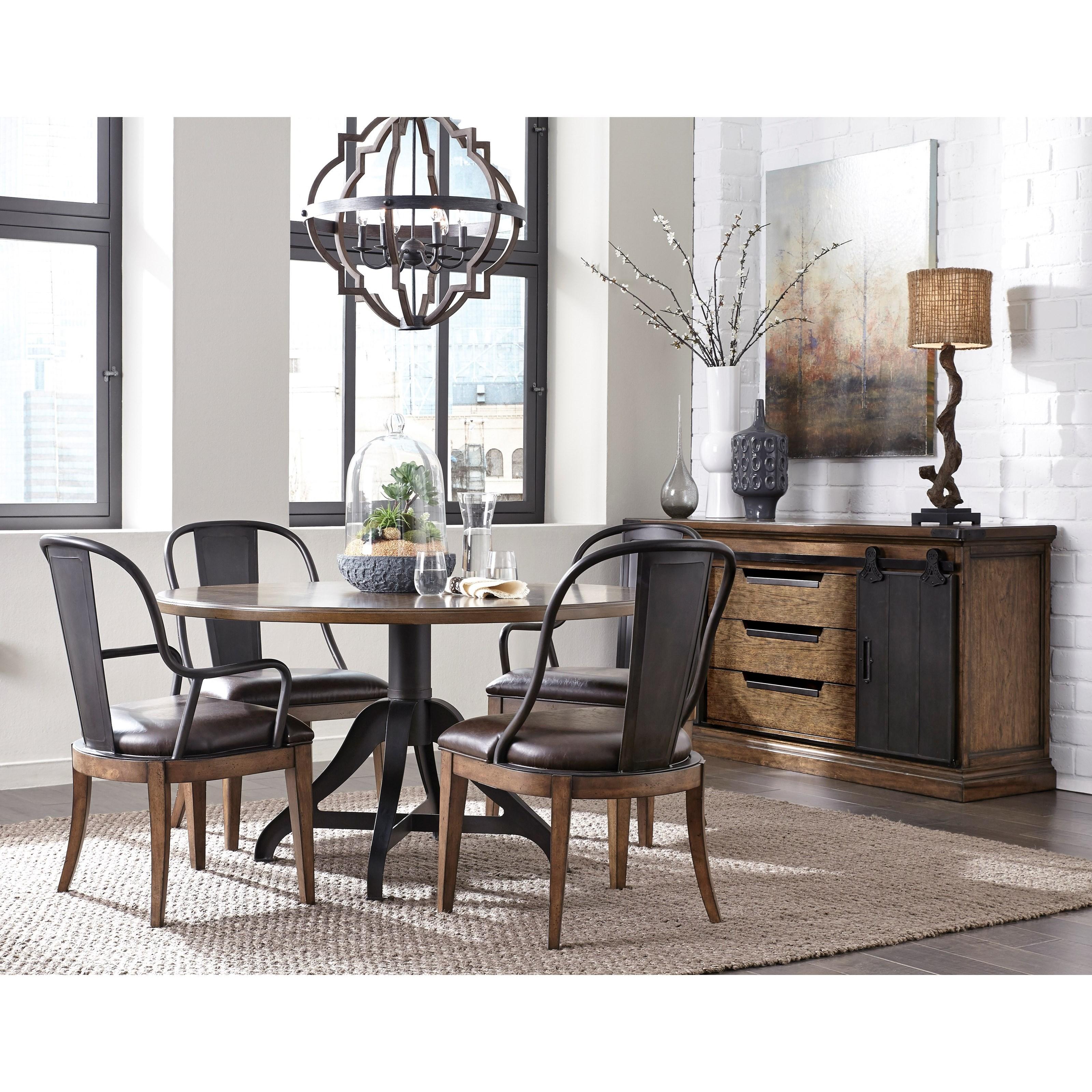 Pulaski Dining Room: Pulaski Furniture Weston Loft Casual Dining Room Group