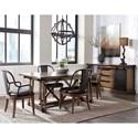 Pulaski Furniture Weston Loft Casual Dining Room Group - Item Number: P001 Dining Room Group 2
