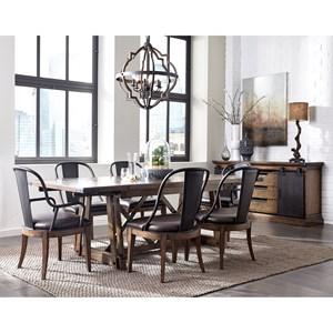 Pulaski Furniture Weston Loft Formal Dining Room Group 2
