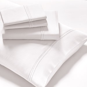 PureCare Elements Modal White Queen Sheet Set
