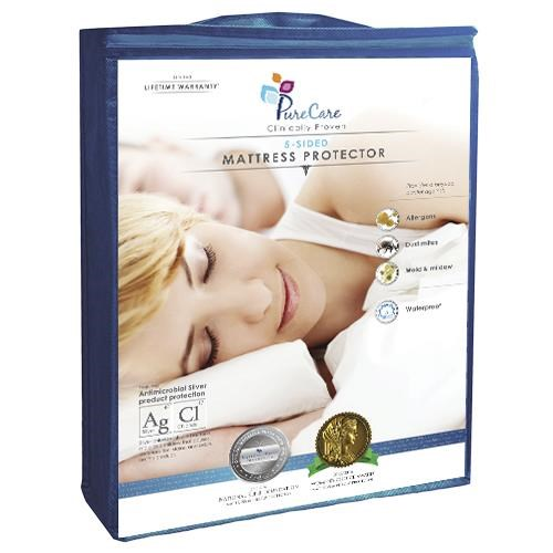 5 Sided Full Mattress Protector