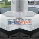 PureCare ReversaTemp Mattress Protector Cal King Mattress Protector - Item Number: 994902483