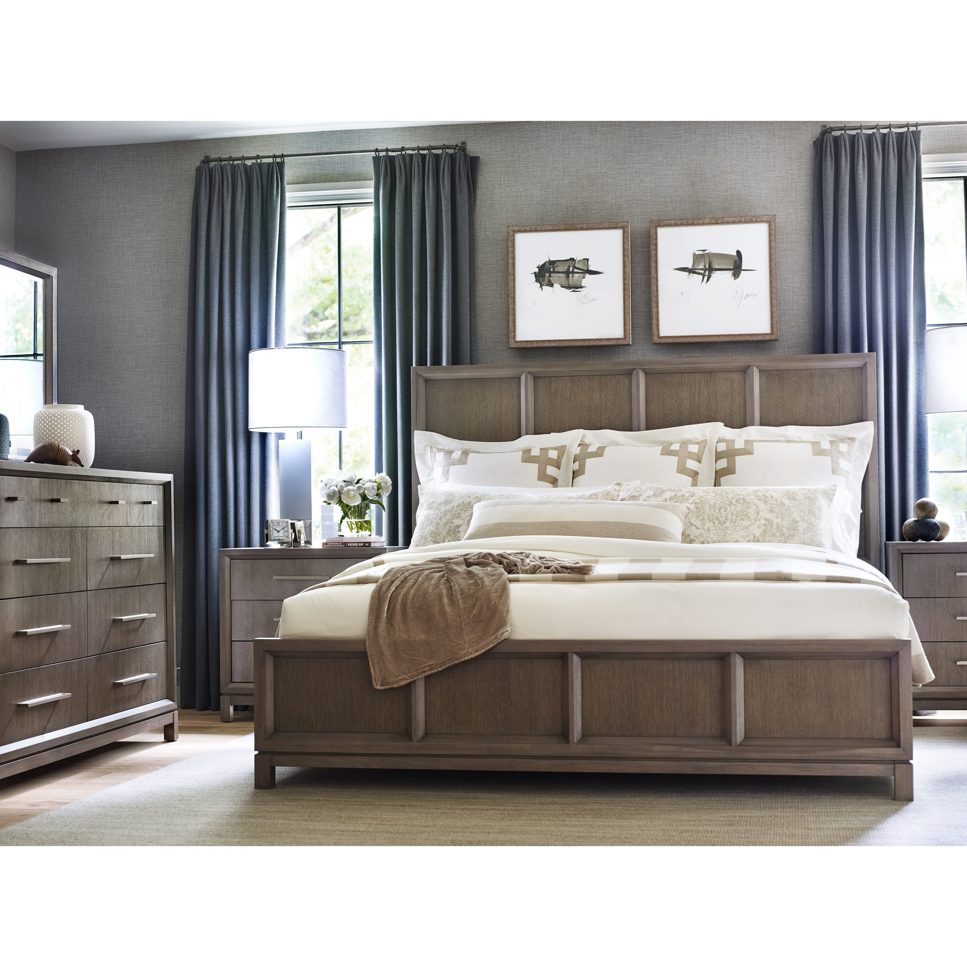 Rachael Ray Home High Line King Bedroom Group - Item Number: 6000 K Bedroom Group 1