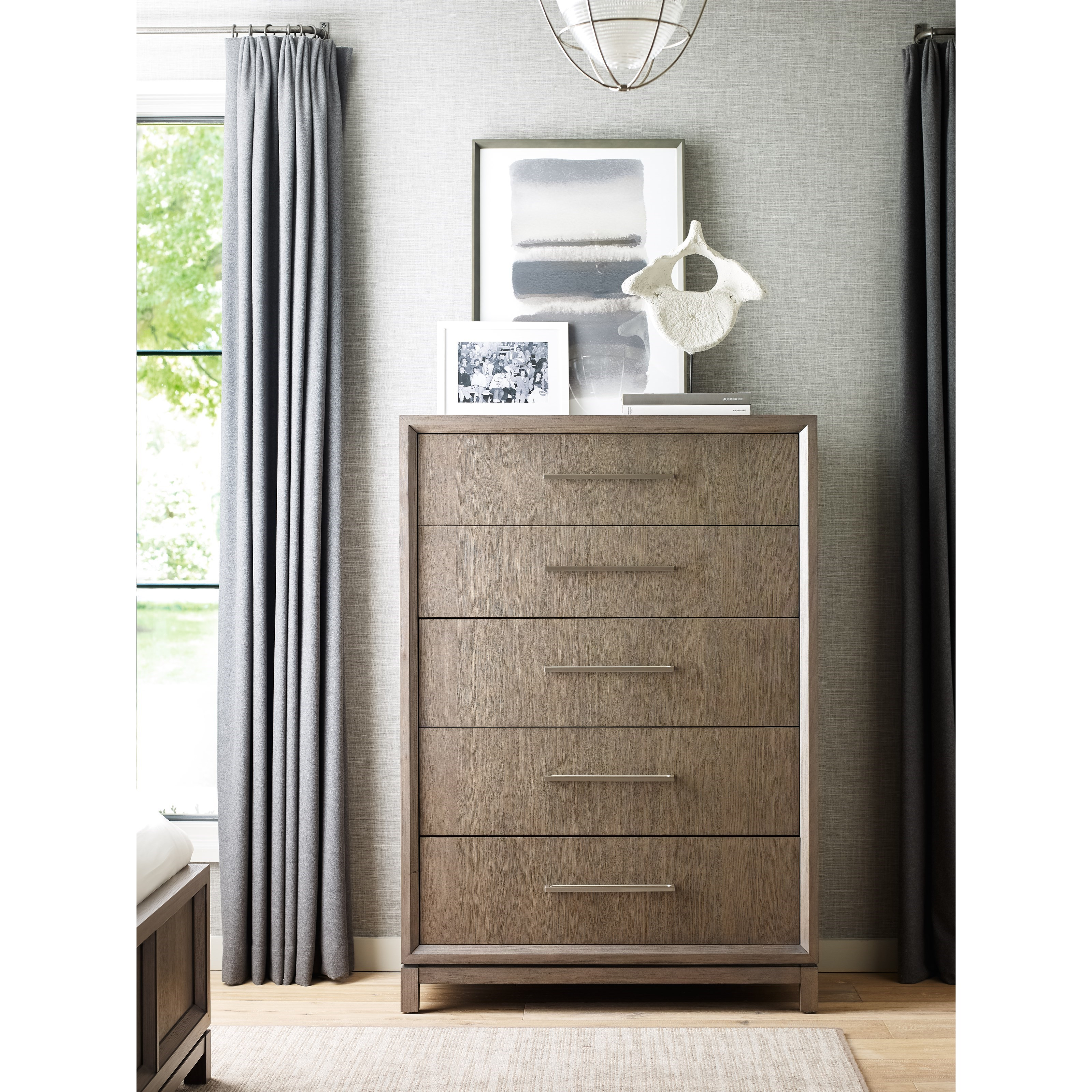 Rachael Ray Home High Line 5 Drawer Chest Fashion Furniture Drawer Chests