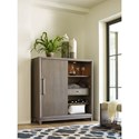 Rachael Ray Home by Legacy Classic High Line Sliding Door Chest with Built-in Outlets