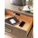 Rachael Ray Home Highline Night Stand with Outlet/USB Port