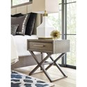 Rachael Ray Home Highline Bedside Chest with Drawer