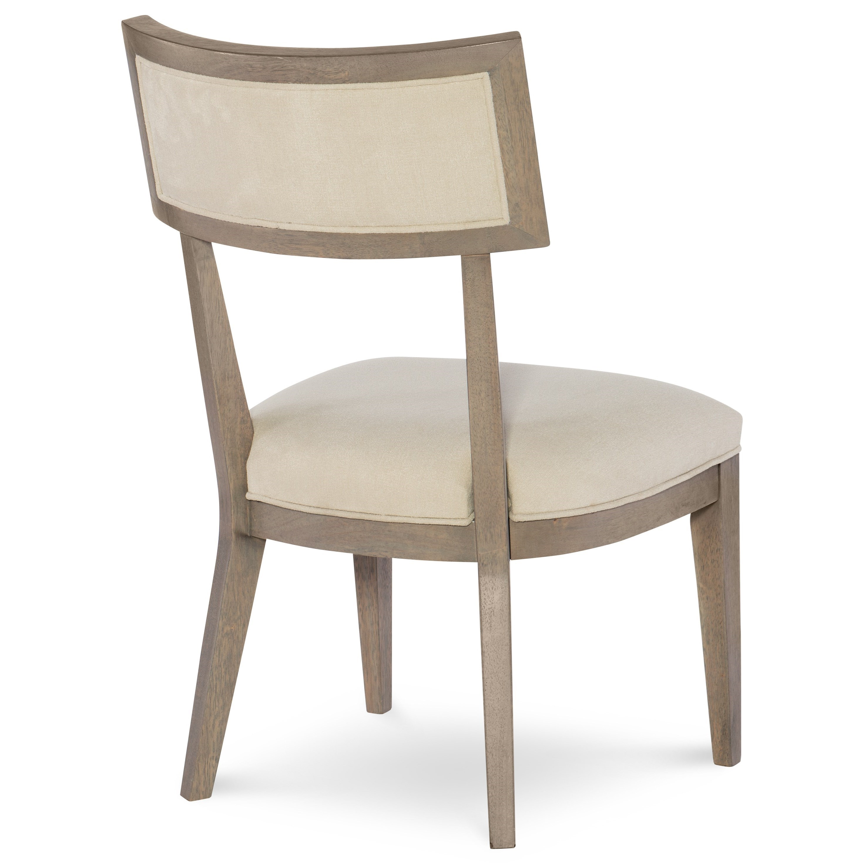 Rachael Ray Home High Line Klismo Side Chair With Upholstered Seat And Back Fashion Furniture