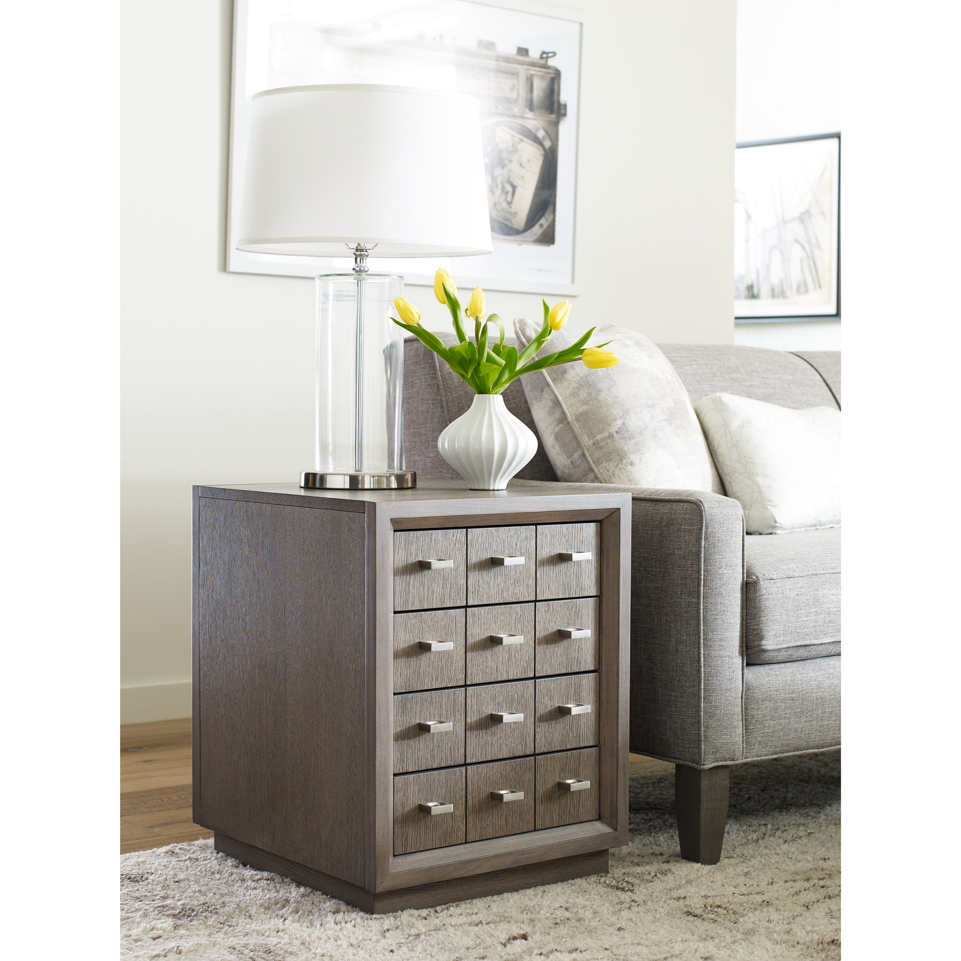 Rachael Ray Home By Legacy Classic High Line Side Table With 4 Drawers Miskelly Furniture