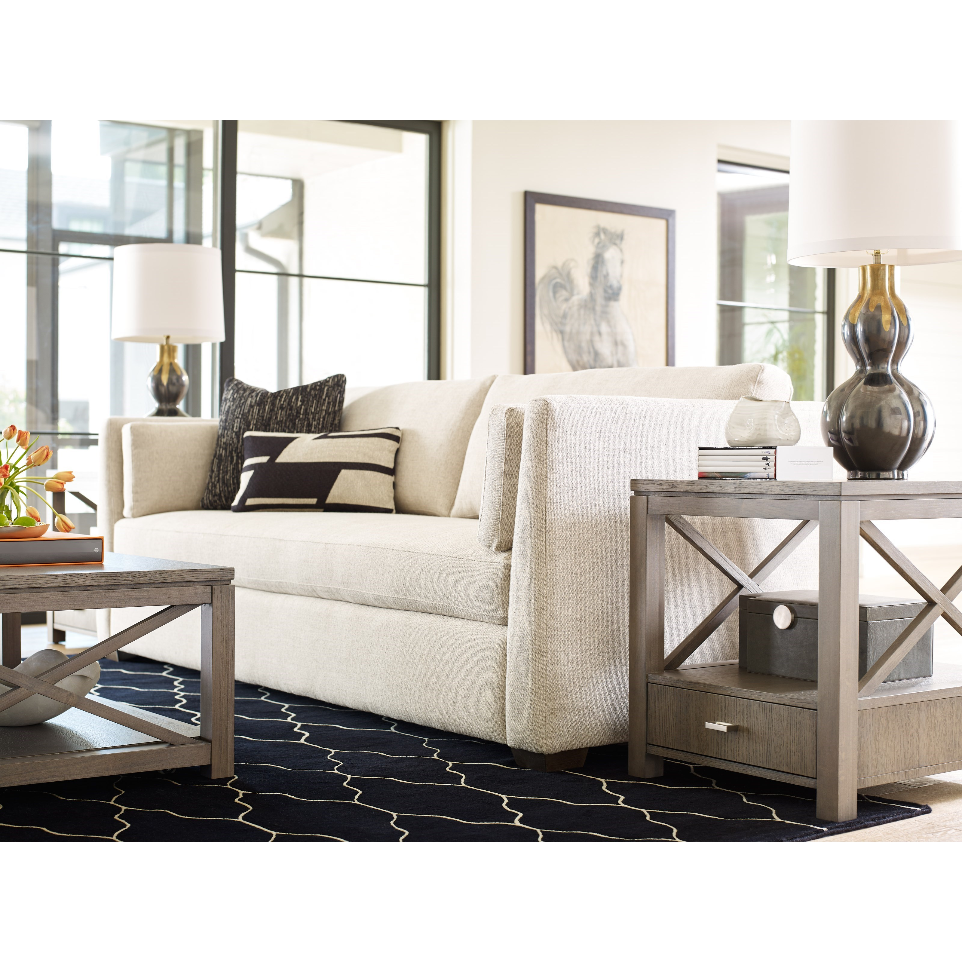 Rachael Ray Home High Line End Table With Drawer Fashion Furniture End Tables