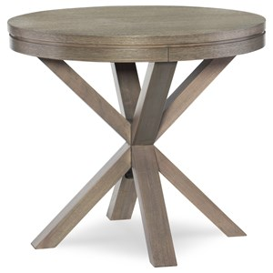 Rachael Ray Home High Line Round Lamp Table