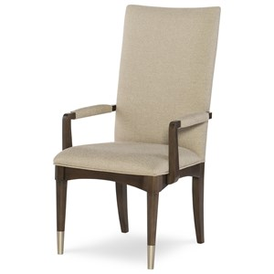Rachael Ray Home by Legacy Classic Soho Upholstered Back Arm Chair