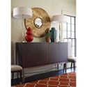 Rachael Ray Home by Legacy Classic Soho Mid-Century Modern Credenza with Parquet Panels