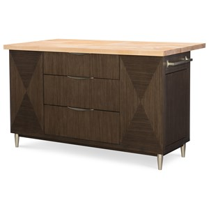 Rachael Ray Home by Legacy Classic Soho Kitchen Island