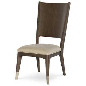 Rachael Ray Home By Legacy Classic Soho Wood Back Side Chair