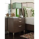 Rachael Ray Home by Legacy Classic Soho Mid-Century Modern Night Stand with USB Outlet