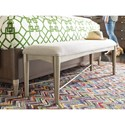 Rachael Ray Home by Legacy Classic Soho Contemporary Upholstered Bench