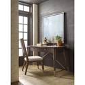 Rachael Ray Home by Legacy Classic Soho Mid-Century Modern Writing Desk with 2 Drawers