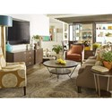 Rachael Ray Home by Legacy Classic Soho Mid-Century Modern Étagère with Pass Through Drawers