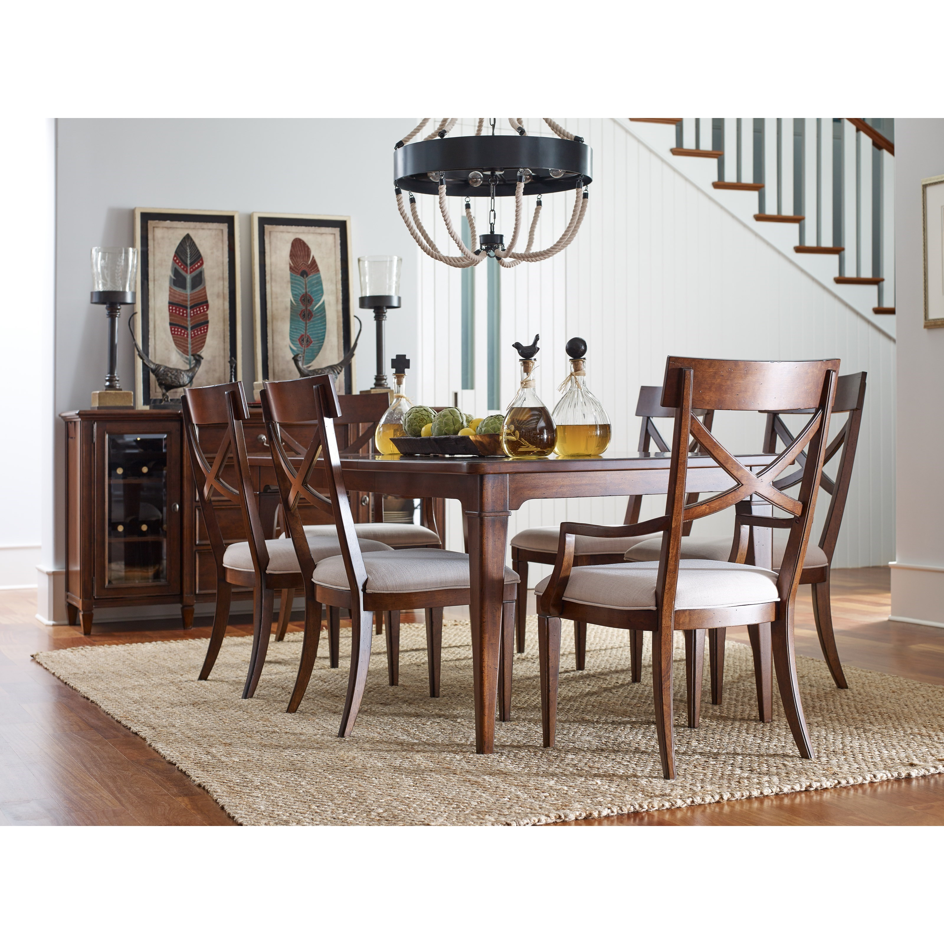 Rachael Ray Home by Legacy Classic Upstate Formal Dining Room Group - Item Number: 6040 Dining Room Group 3