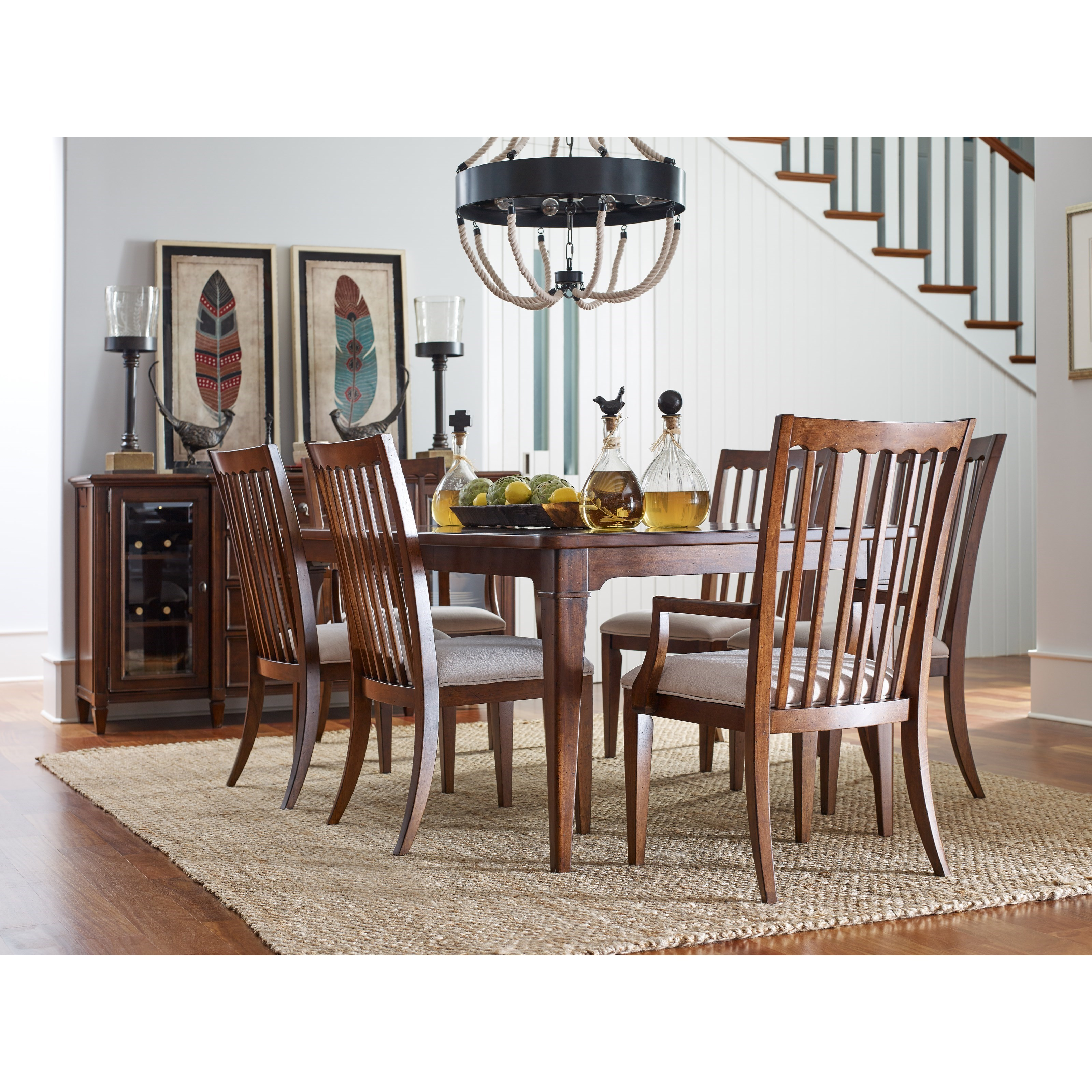 Rachael Ray Home by Legacy Classic Upstate Formal Dining Room Group - Item Number: 6040 Dining Room Group 4