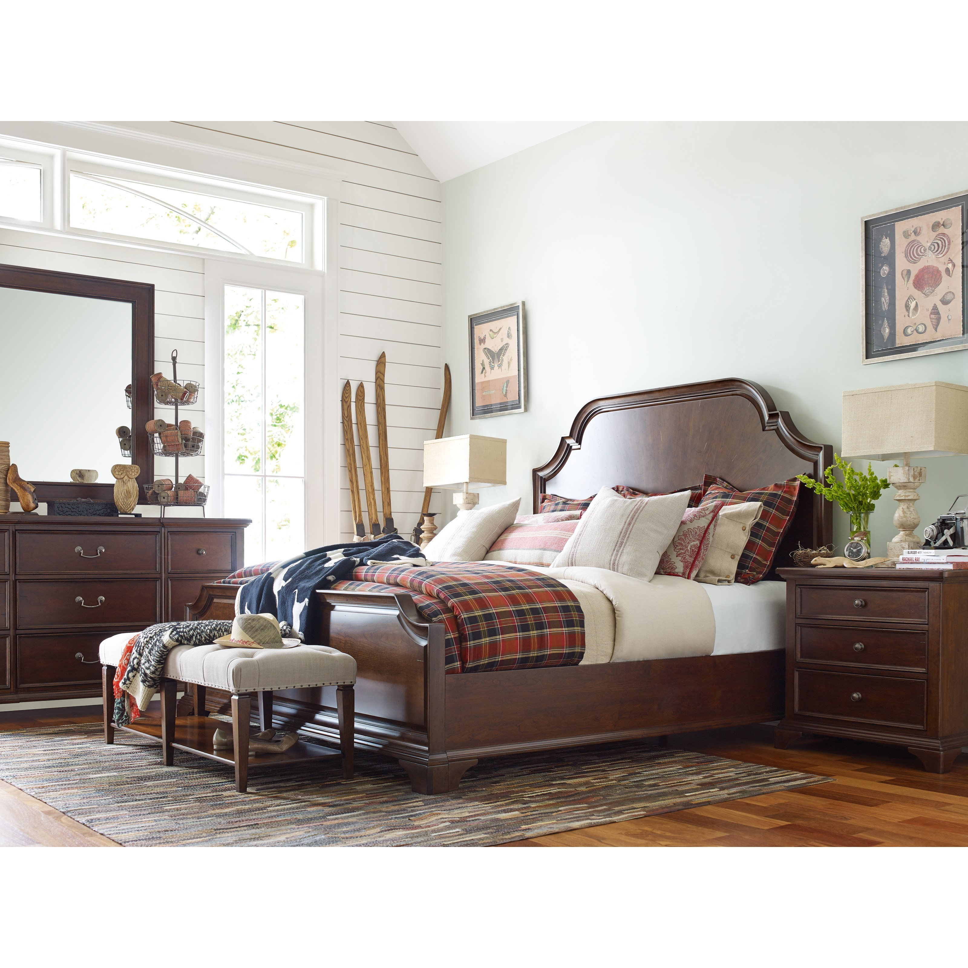 Rachael Ray Home by Legacy Classic Upstate Queen Bedroom Group - Item Number: 6040 Q Bedroom Group 1