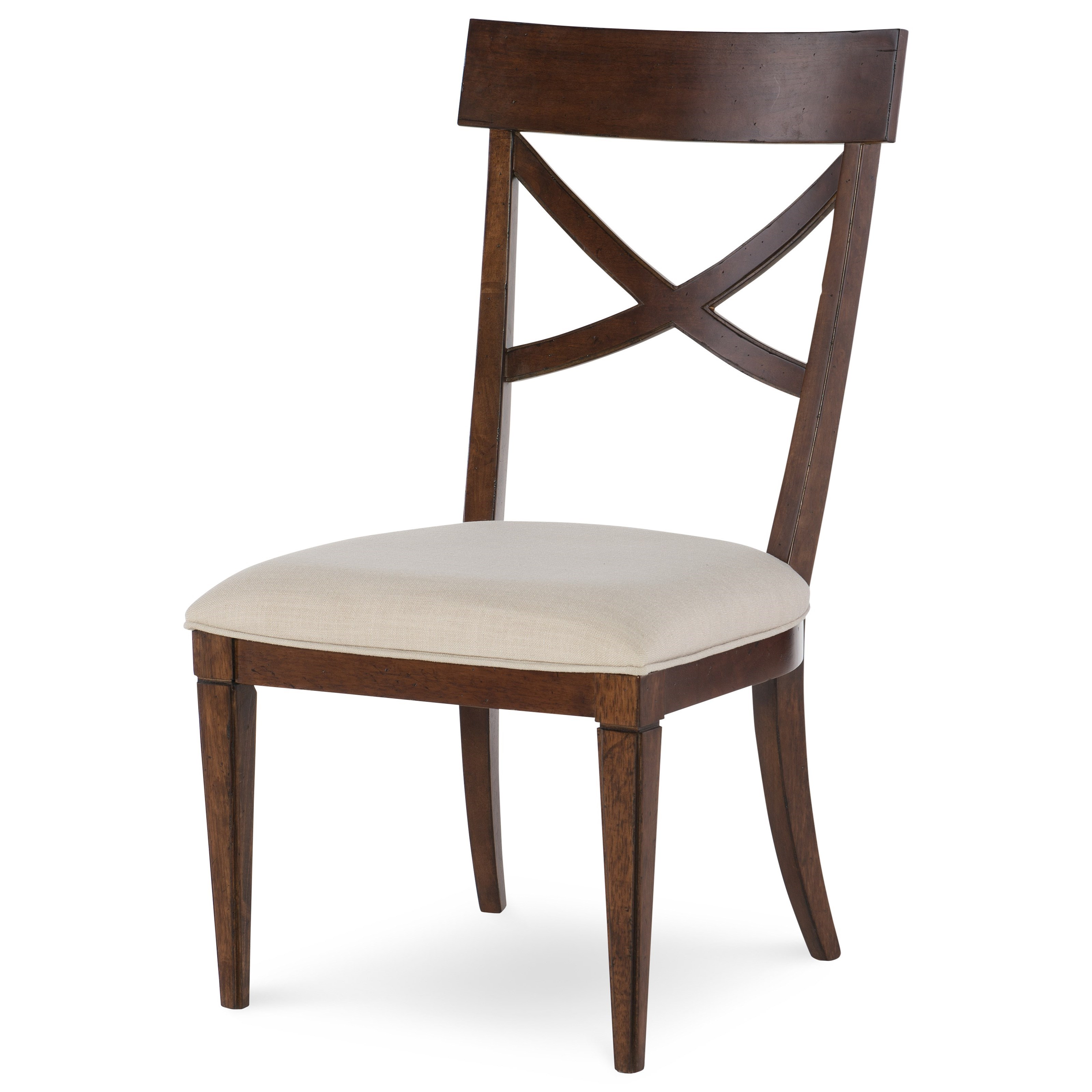 Rachael Ray Home by Legacy Classic Upstate X-Back Side Chair - Item Number: 6040-240 KD