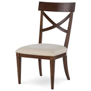 Rachael Ray Home Upstate X-Back Side Chair