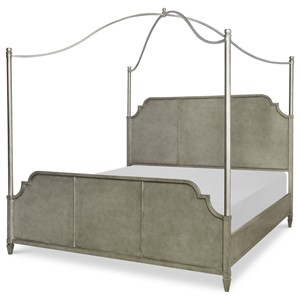 Rachael Ray Home by Legacy Classic Upstate Queen Metal Canopy Bed