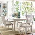 Rachael Ray Home by Legacy Classic Upstate 6 Piece Table & Chair Set with Bench - Item Number: 6041-221+740+2x241KD+2x240KD