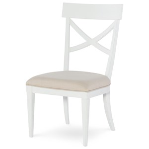 Rachael Ray Home by Legacy Classic Upstate X-Back Side Chair