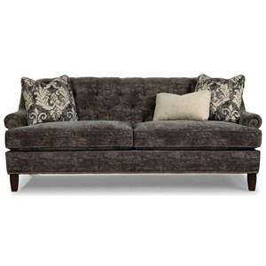 Sofa w/ Brass Nailheads