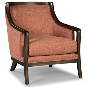 Rachael Ray Home by Craftmaster Soho Chair with Exposed Wood Frame