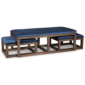 Rachael Ray Home by Craftmaster Soho Bunching Ottoman