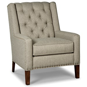 Rachael Ray Home by Craftmaster Upstate Chair w/ Light Brass Nailheads