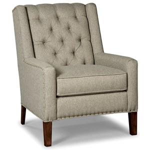 Chair w/ Light Brass Nailheads