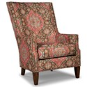 Rachael Ray Home by Craftmaster Upstate Transitional Chair with Modified Wing Back and Light Brass Nails