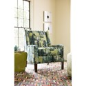 Rachael Ray Home by Craftmaster Soho Casual Chair with Modified Wing Back