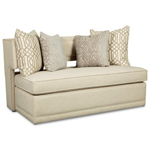 Rachael Ray Home By Craftmaster R1014 Complete Sleeper Bench W/ Innerspring  Matt