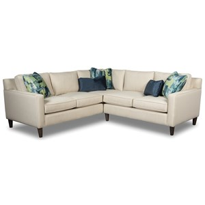 Rachael Ray Home by Craftmaster Soho 2 Pc Sectional Sofa
