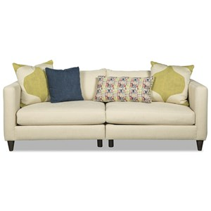 Rachael Ray Home by Craftmaster R7663 2 Pc Modular Sofa