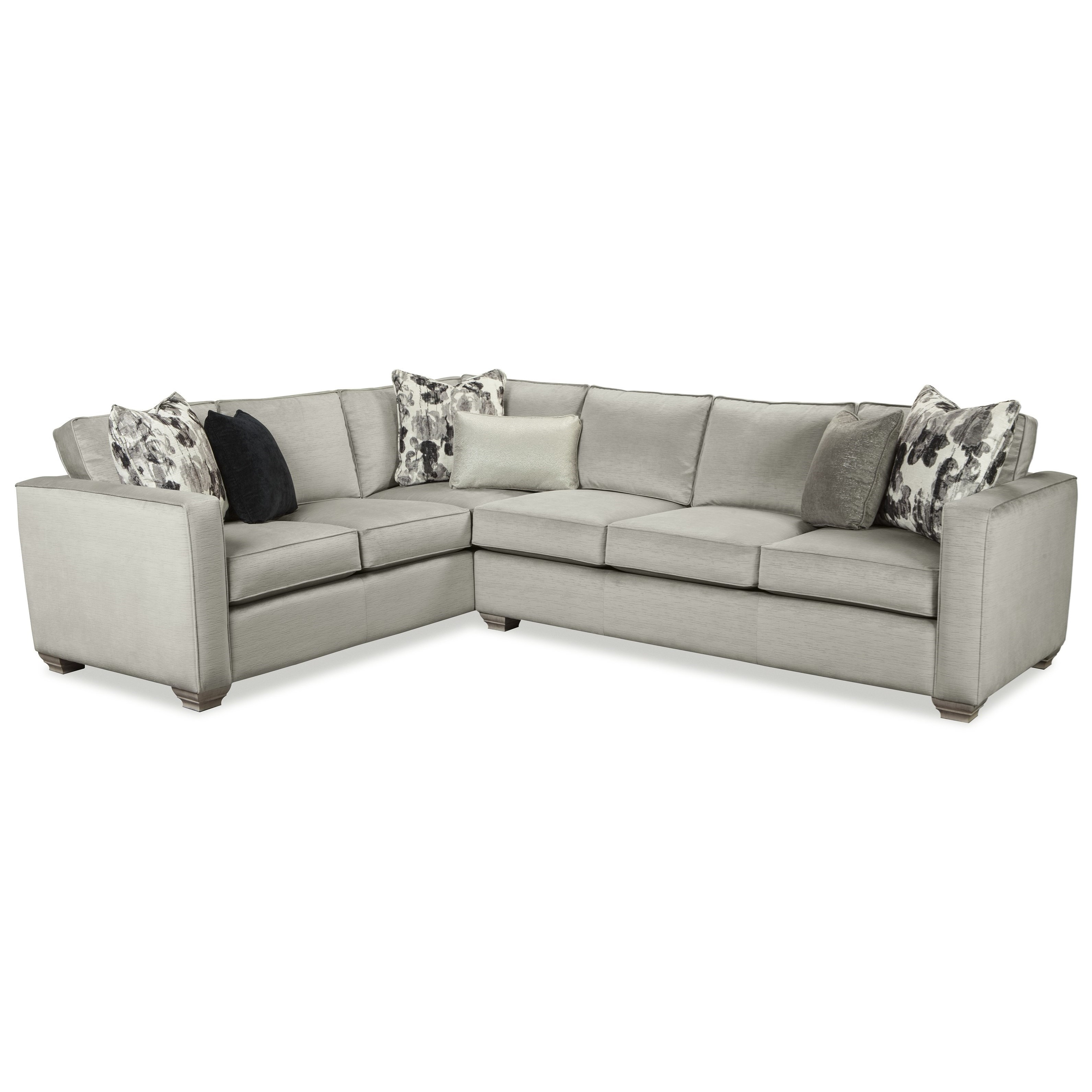 Br Thult Corner Sofa Bed Review: Rachael Ray Home By Craftmaster R7727 Two Piece Sectional