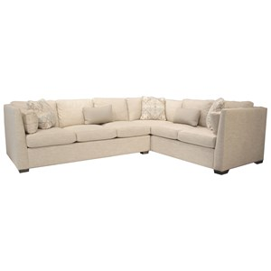 Rachael Ray Home by Craftmaster RR760100 2 Pc Sectional Sofa w/ RAF Corner Sofa
