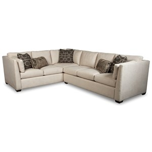 Rachael Ray Home by Craftmaster RR760100 2 Pc Sectional Sofa w/ LAF Corner Sofa