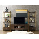 Rachael Ray Home by Legacy Classic Austin Entertainment Wall Unit - Item Number: 8100-023+2x5201