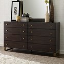 Rachael Ray Home by Legacy Classic Austin Contemporary 8 Drawer Dresser