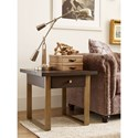 Rachael Ray Home by Legacy Classic Austin Square End Table with Metal Accent