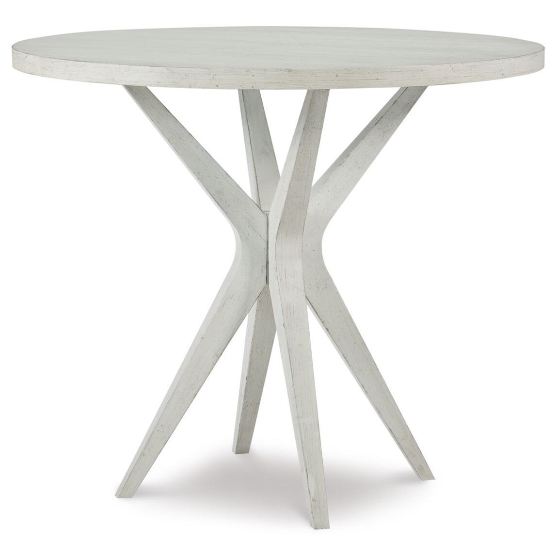 Round Counter Height Pub Table