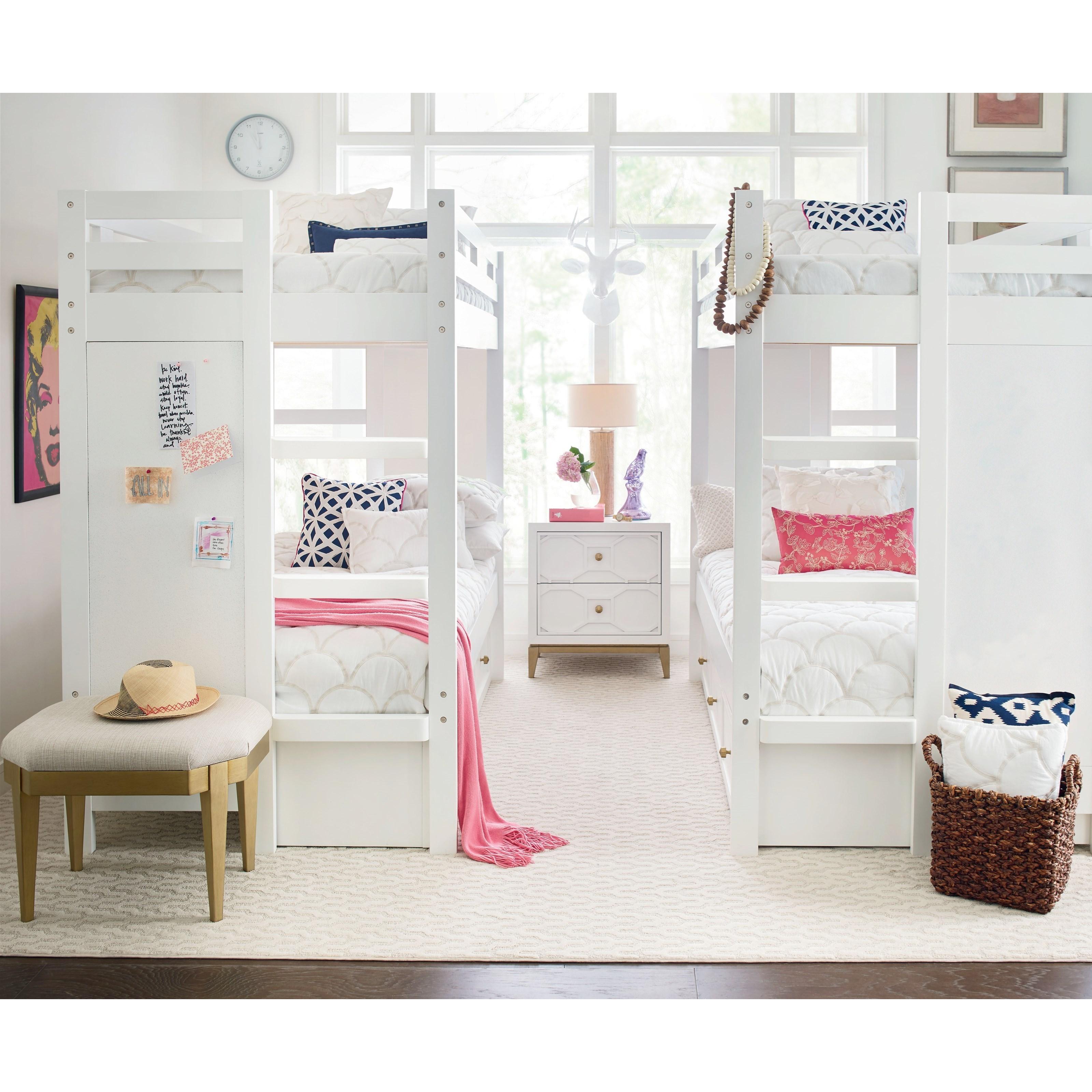 Twin Bunk Bedroom Group